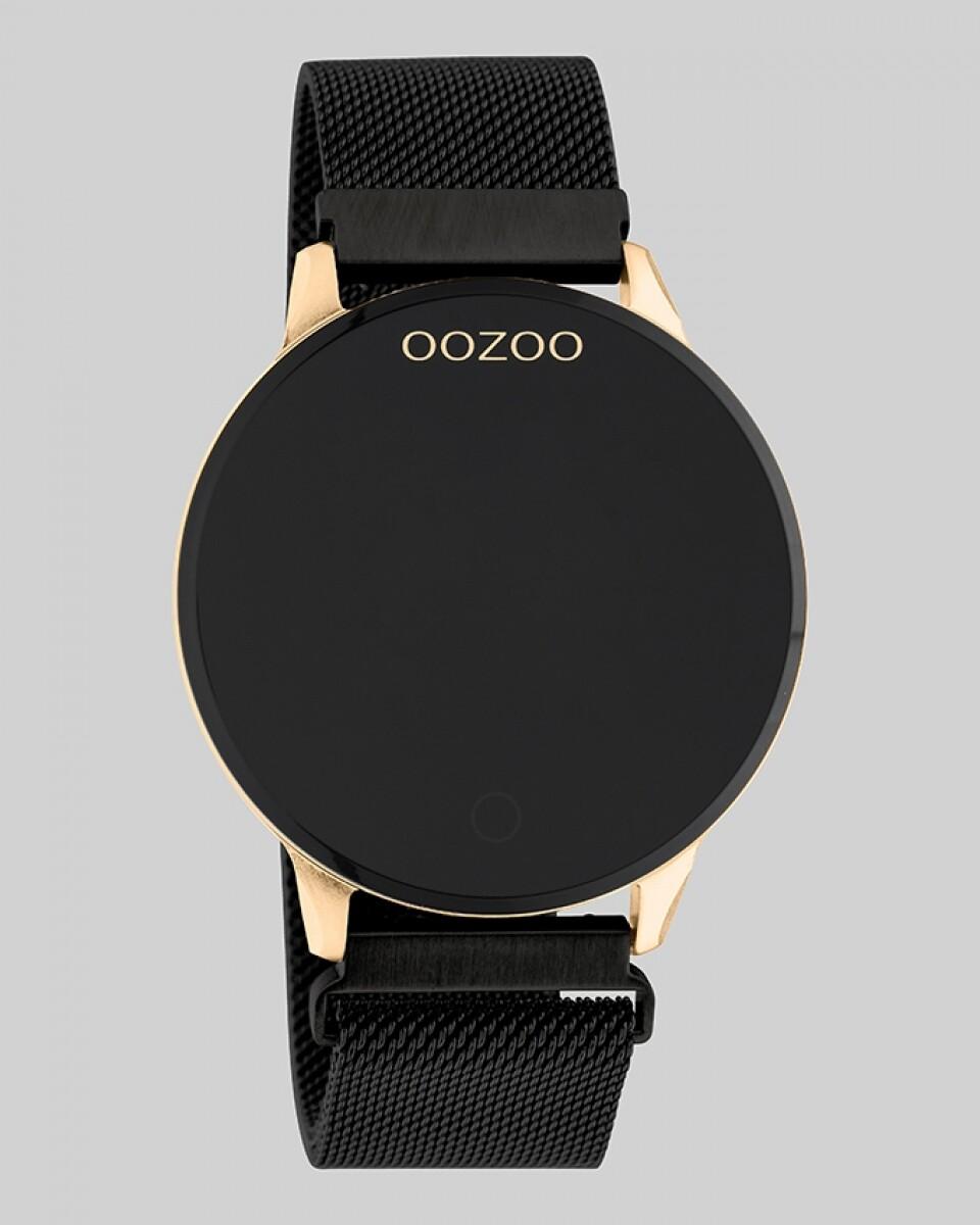 Q00118 SMARTWATCH zwart / rosé   OOZOO