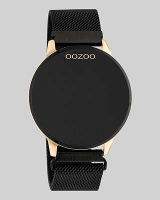 Q00118 SMARTWATCH zwart / rosé | OOZOO