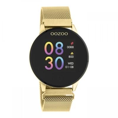 Q00121 Smartwatch goud/zwart | OOZOO