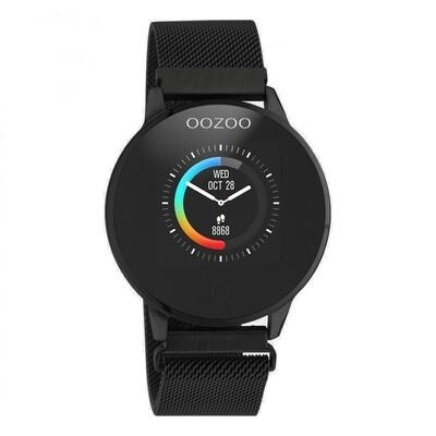 Smartwatch Q00119 zwart | Oozoo