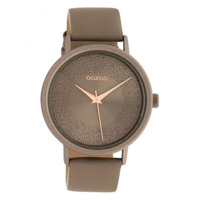 C10578 horloge taupe | Oozoo