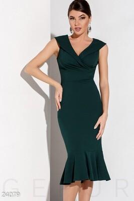 Элегантное платье-рыбка