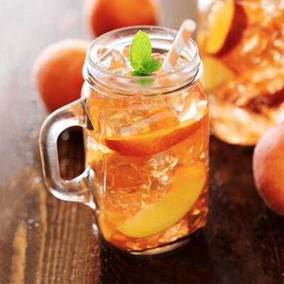 SAMPLE. Peach Agua Frescas