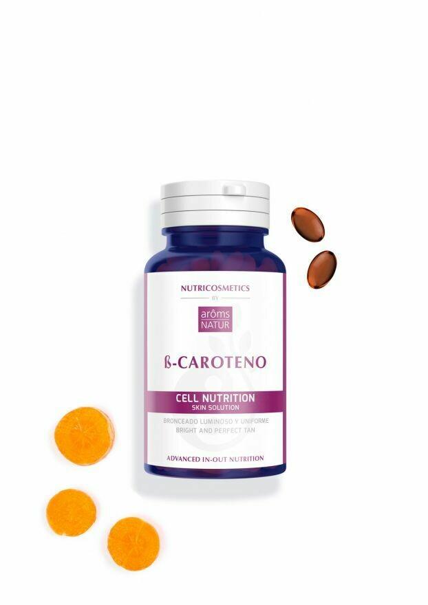 ß-CAROTENO NUTRICOSMETICS 45 PERLAS