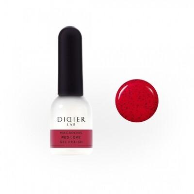 Gel Polish Didier Lab, Macarons, RED LOVE