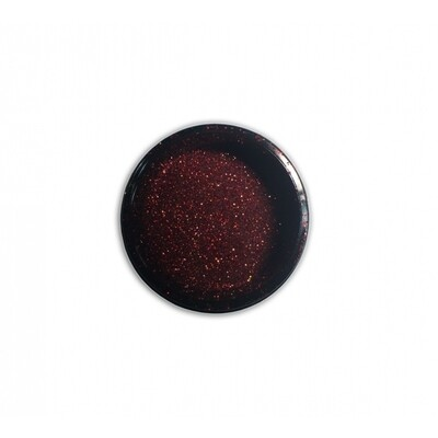 NAIL GLITTER Didier Lab, DUSTY RED, 2,5g
