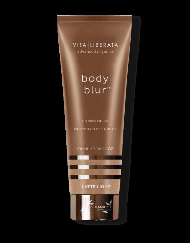 Vita Liberata Body Blur HD Skin Finish-Latte Light, 100ml