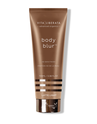Vita Liberata Body Blur HD Skin Finish-Latte Light, 100ml