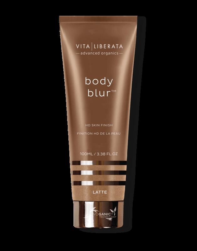 Vita Liberata Body Blur HD Skin Finish-Latte,100ml.