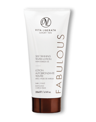 Vita Liberata Self Tanning Tinted Lotion, 200ml - dark