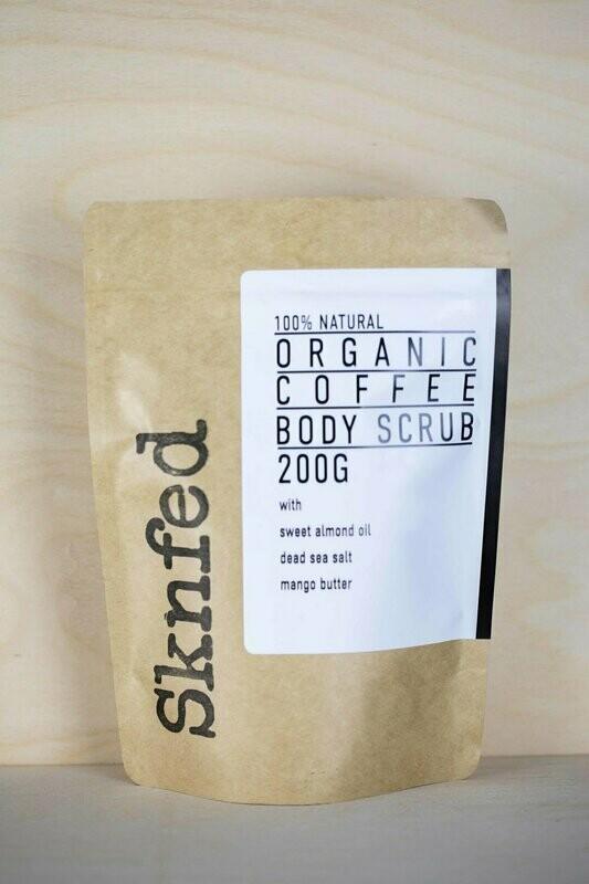 Sknfed Organic Coffee Body Scrub, 200g