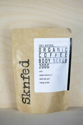 Sknfed Organic Coffee Body Scrub, 200g