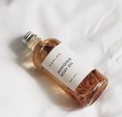 Narloa Marigold Body Oil, 100ml