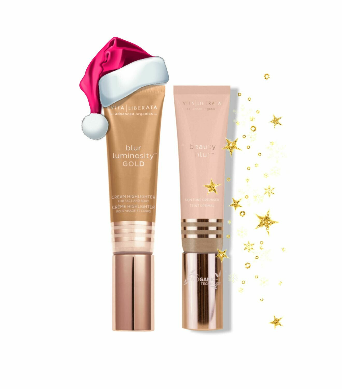 Vita Liberata Christmas Beauty Blur, Luminosity Gold Bundle. (saving £10)