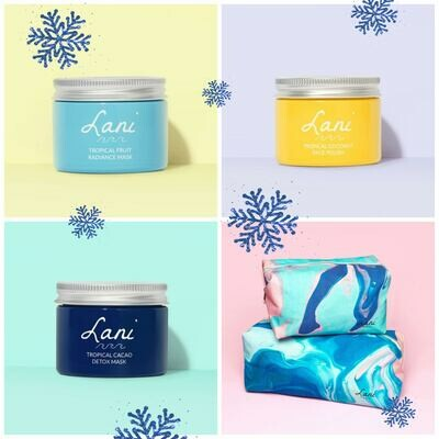 Christmas Lani Mask & Polish Bundle. (save £10)