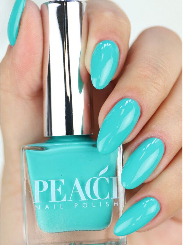 Peacci Nail Polish - Blue lagoon, 10ml