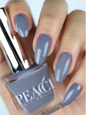 Peacci Nail Polish - Shadow, 10ml