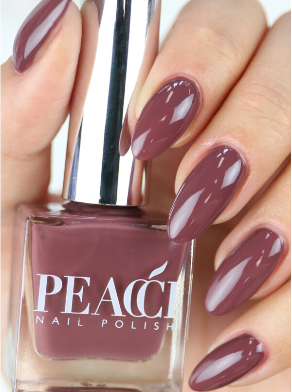 Peacci Nail Polish - Cacao, 10ml