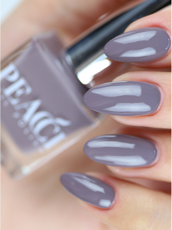 Peacci Nail Polish - Miss Grey, 10ml