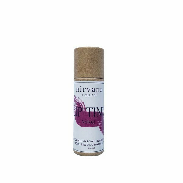 Nirvana Natural Lip Tint - Velvet 10gm