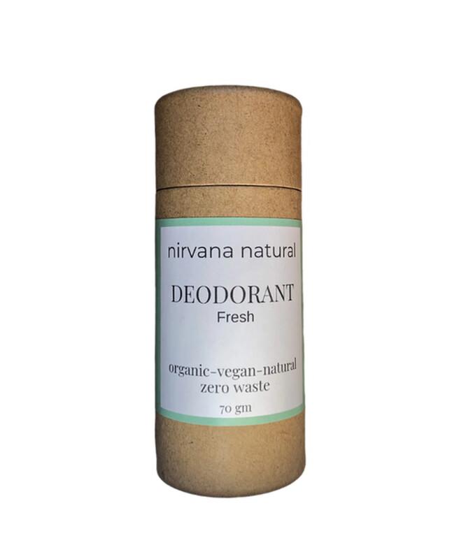 Nirvana Natural Deodorant - Fresh 70g