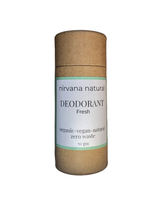 Nirvana Natural Deodorant - Fresh 70g