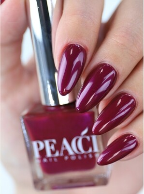 Peacci Nail Polish - Plum, 10ml