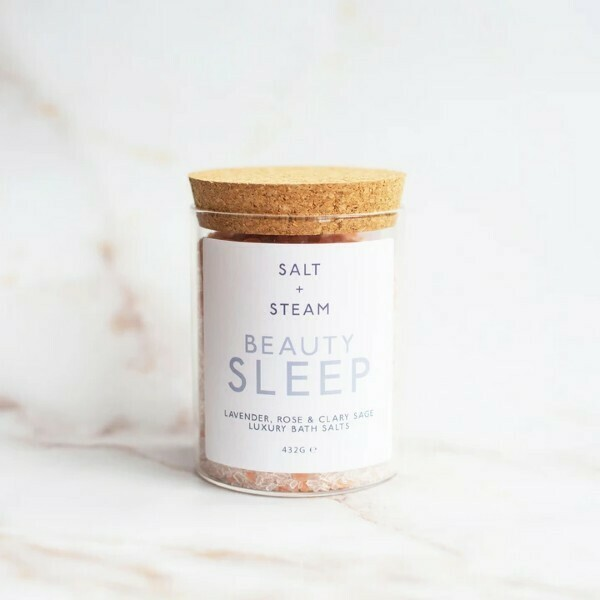 Salt + Steam Bath Salts, Beauty Sleep, 432g