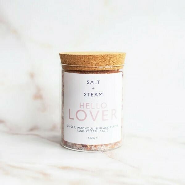 Salt + Steam Bath Salts, Hello Lover, 432g