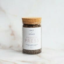 Salt + Steam Body Scrub, French Press, 302g