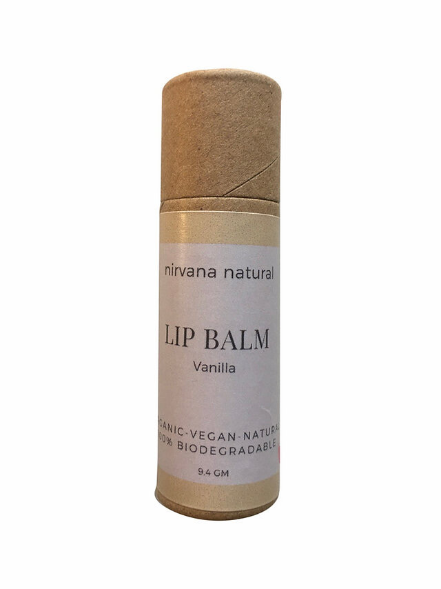 Nirvana Natural Lip Balm, Vanilla, 10gm.