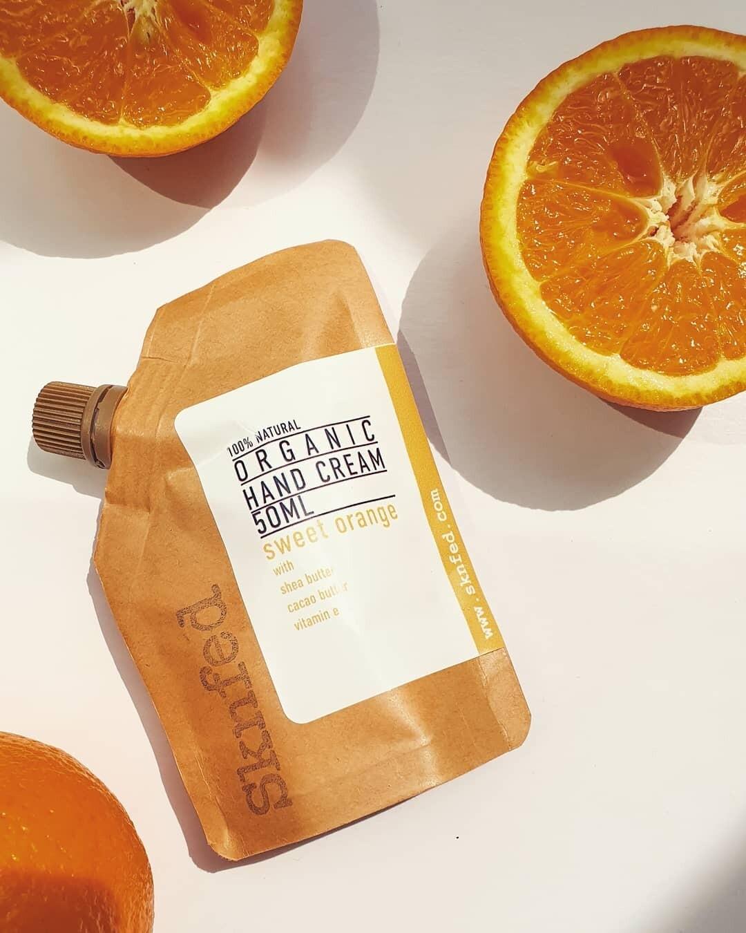 Sknfed Organic Hand Cream - Sweet Orange, 50ml