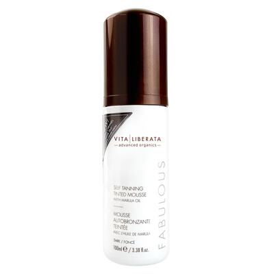 Vita Liberata Self Tanning Tinted Mousse-Dark, 100ml.