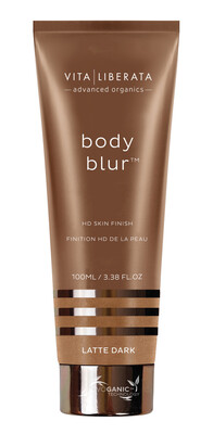 Vita Liberata Body Blur HD Skin Finish-Latte dark,100ml