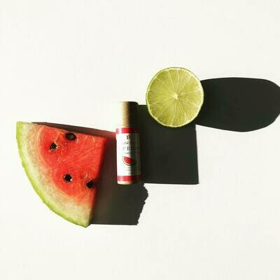 LIMITED EDITION, Nirvana Natural Lip Balm, Watermelon & Lime, 10gm.