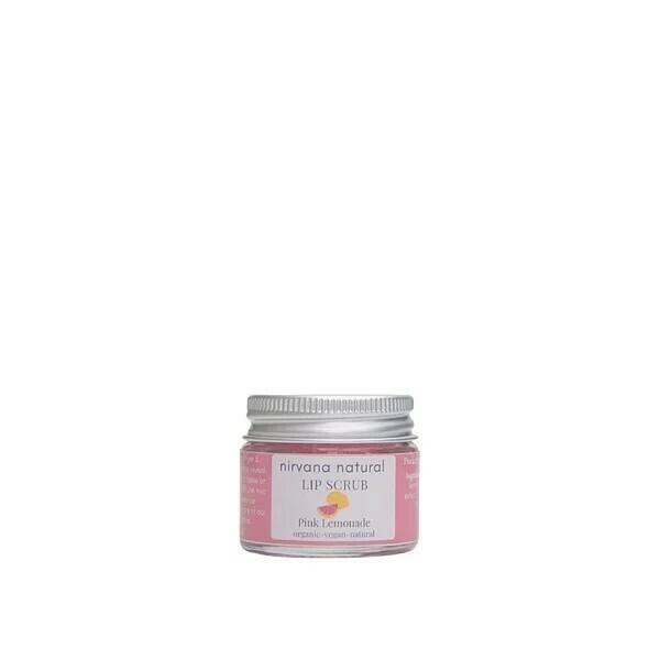 Limited Edition, Nirvana Natural Pink Lemonade Lip Scrub, 15g