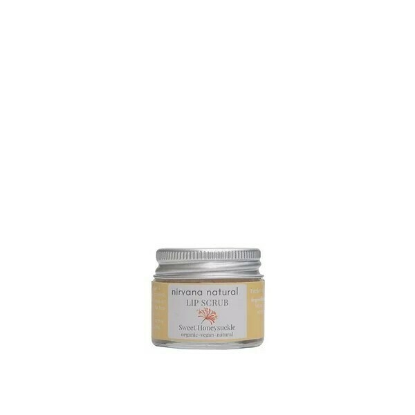 Limited Edition, Nirvana Natural Sweet Honeysuckle Lip Scrub, 15g