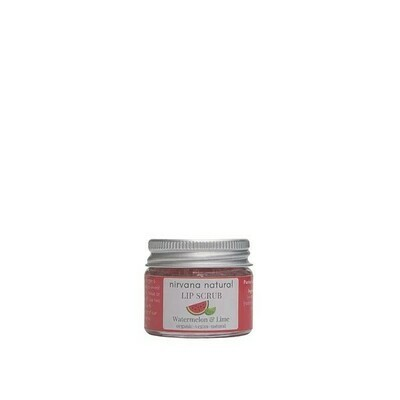 Limited Edition, Nirvana Natural Watermelon And Lime Lip Scrub, 15g