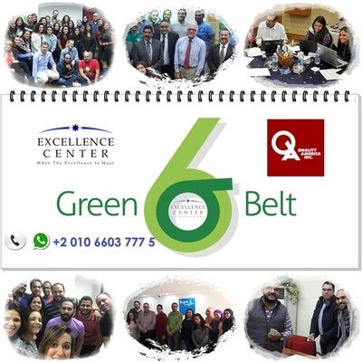 Lean Six Sigma Green Belt - Online Training