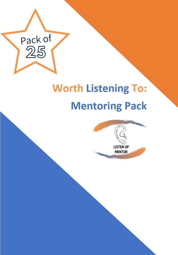 25 Worth Listening to Mentoring Packs