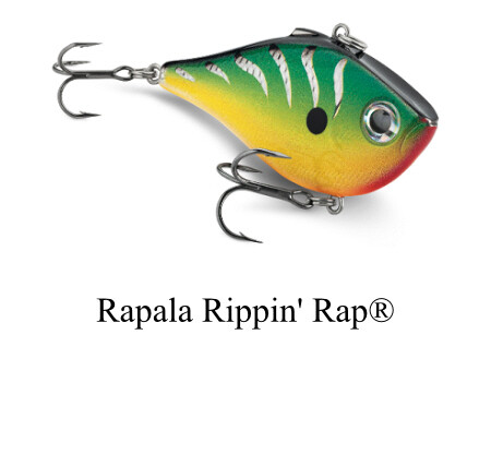 Rapala Rippn' Rap Fishing Lure
