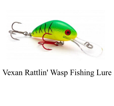 Vexan Rattlin' Wasp Fishing Lure