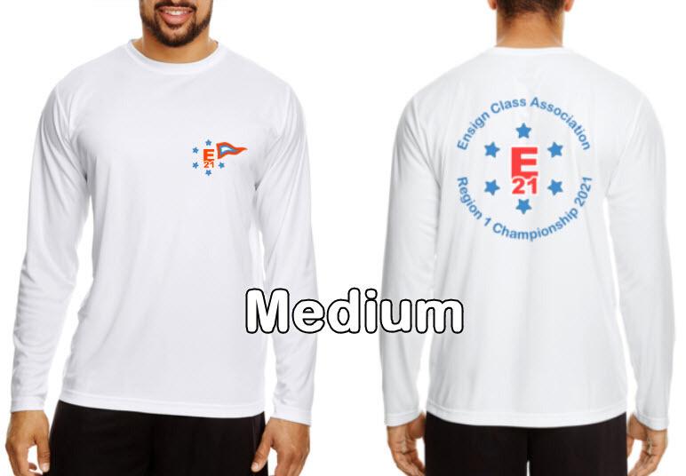Ensign Championship Regatta Long Sleeve Shirts, Medium