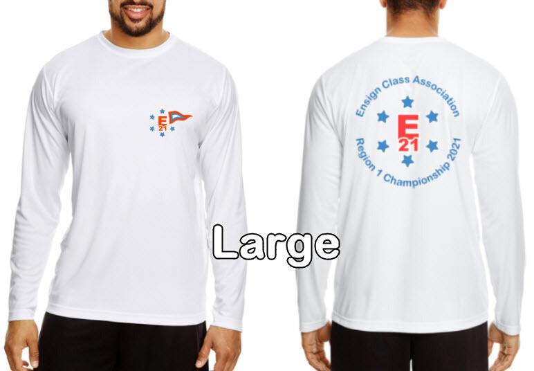 Ensign Championship Regatta Long Sleeve Shirts, Large