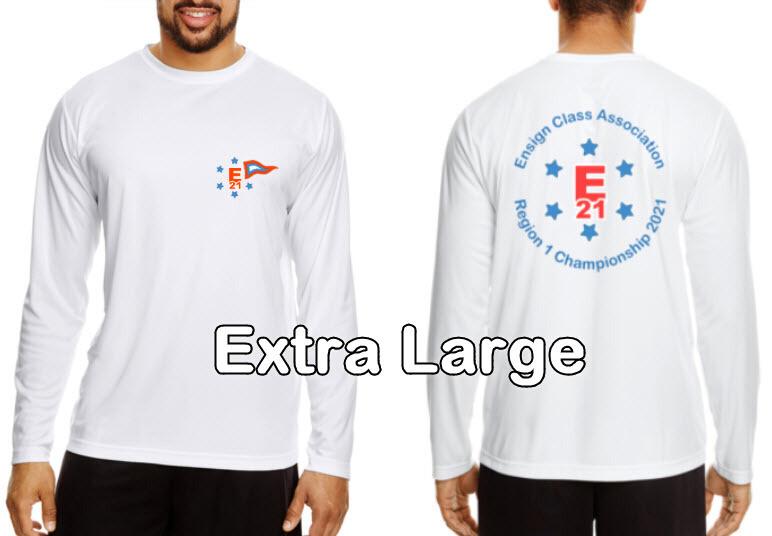 Ensign Championship Regatta Long Sleeve Shirts, Extra Large