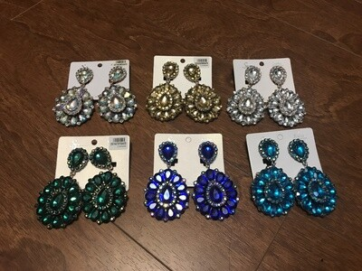 Statement Earrings - Clip-Ons