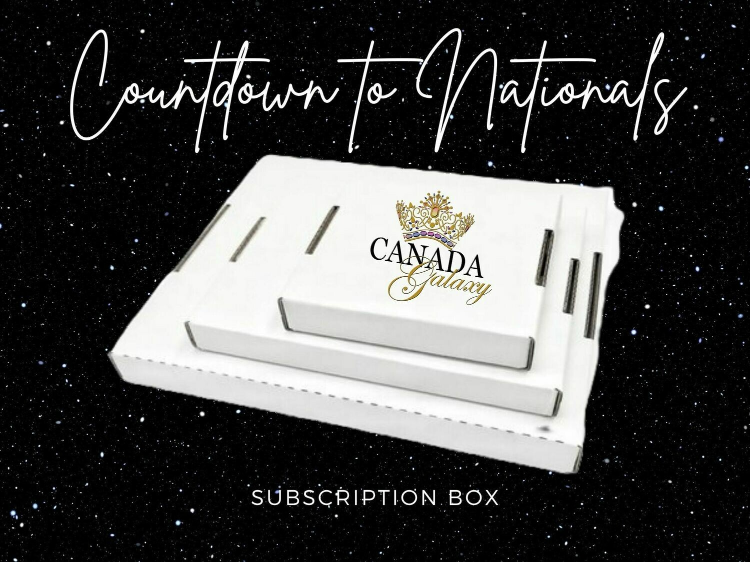 """""""Countdown to Nationals"""" Subscription Box"""