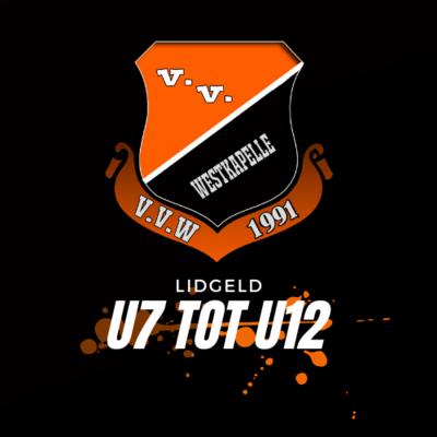Lidgeld U7 tot U12