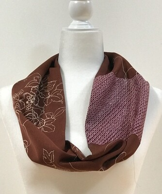 Single infinity scarf 6.5 x 38in