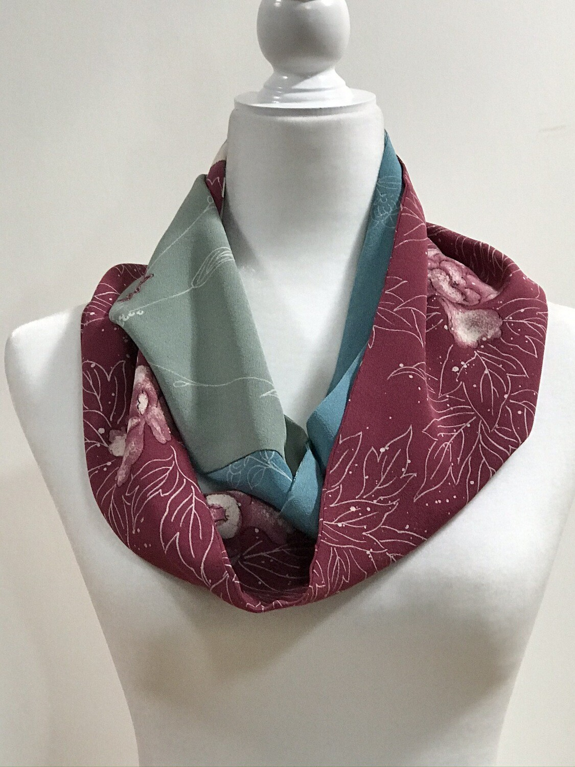 Double infinity scarf 6.5 x 62in